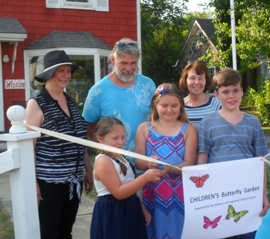 Children S Butterfly Garden Ribbon Cutting Ceremony The